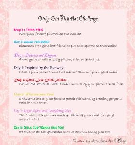 Girly Girl Challenge