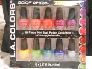 L.A. Colours Colour Craze Mini Set