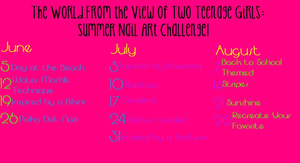 Summer Nail Art Challenge