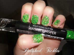 Wild Thing Glitter- Wasabi Whisper