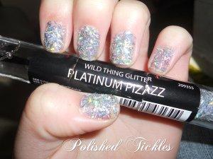 Wild Thing Glitter- Platinum Pizazz