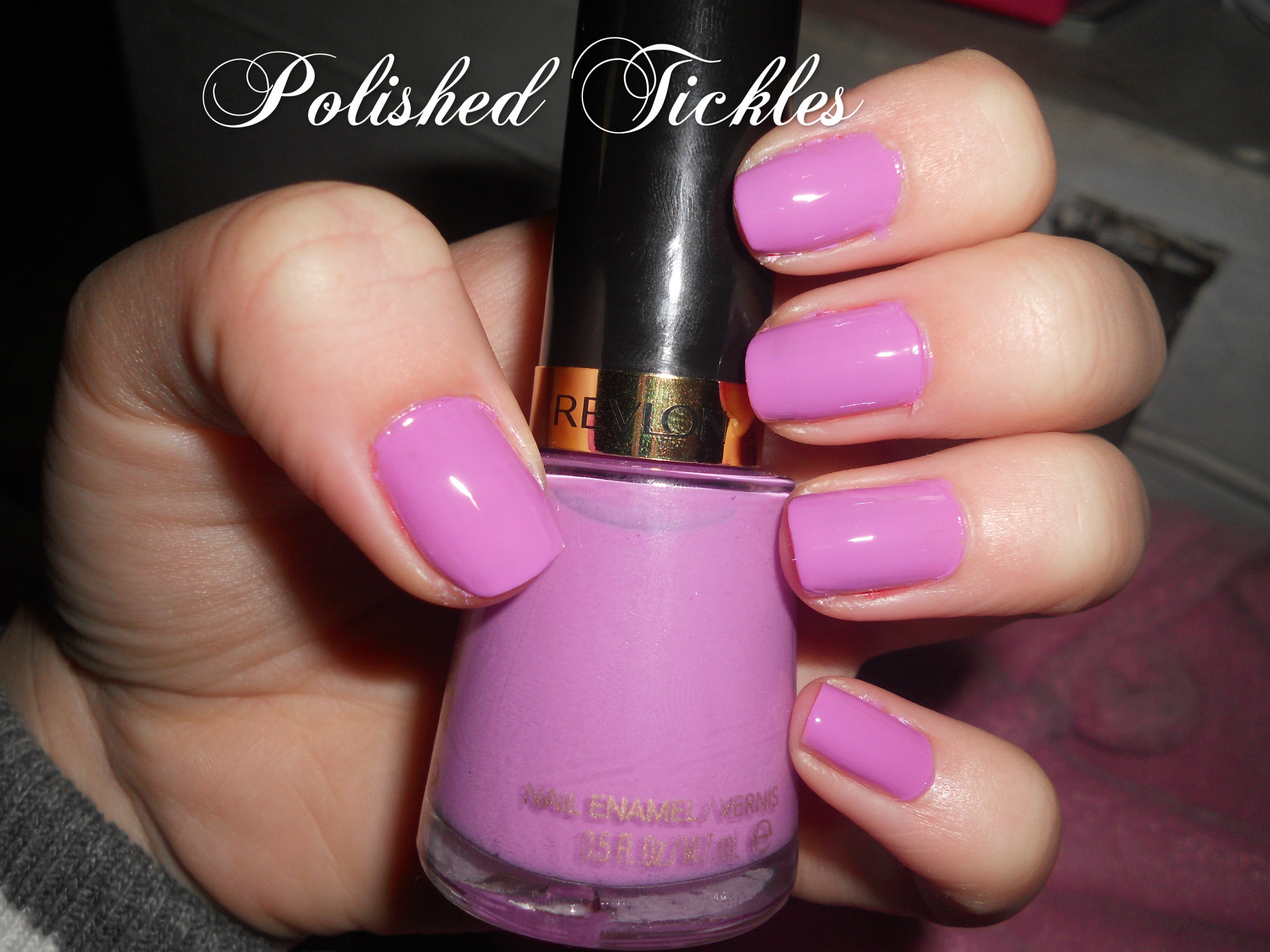 Revlon Nail Enamel Polished Tickles And Beauty