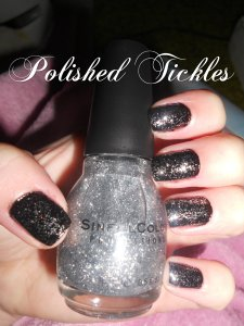 923 Queen Of Beauty over Sinful Colors 103 Black on Black