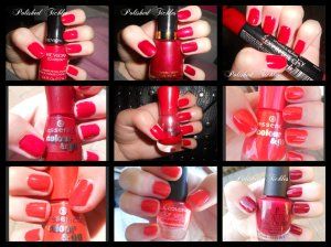 Red Swatches