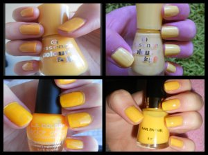 Yellow Swatches