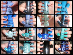 Blue Swatches