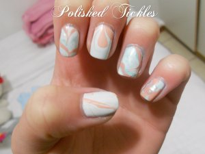 Water Marble Technique
