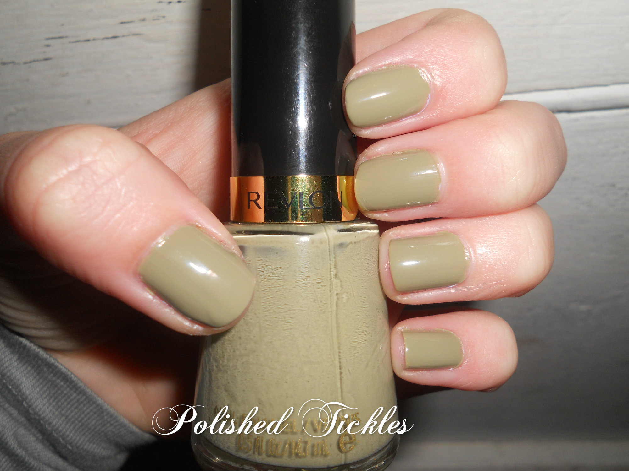 Revlon Nail Enamel Polished Tickles And Beauty