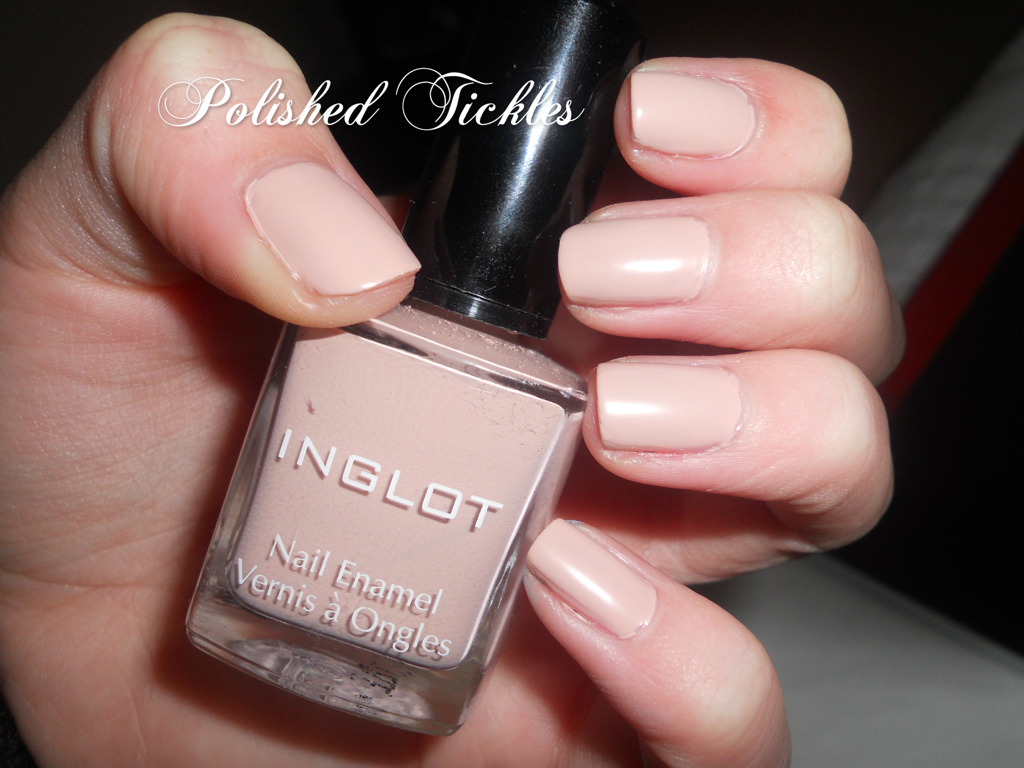 Inglot 715 Matte Nail Polish | Polished Tickles and Beauty