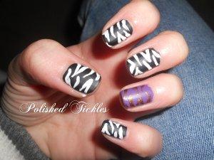 Matte Zebra