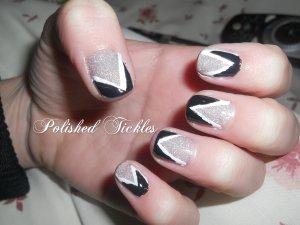 7. Black, White & Glitter