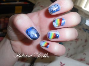 9. Galaxy & Rainbows