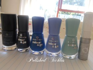 Galaxy Polishes Used