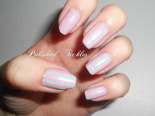 Pink & Blue Stripes
