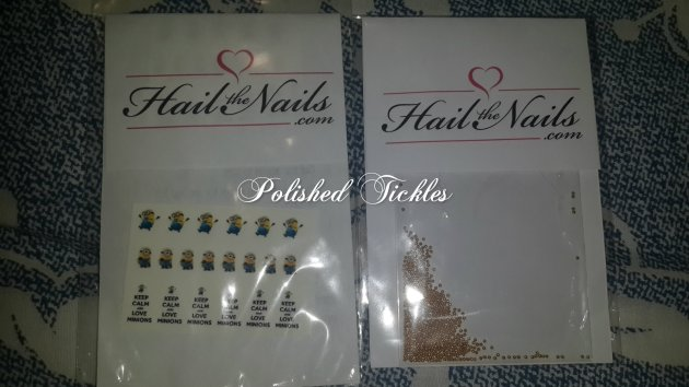 Minions & Studs by Hail The Nails