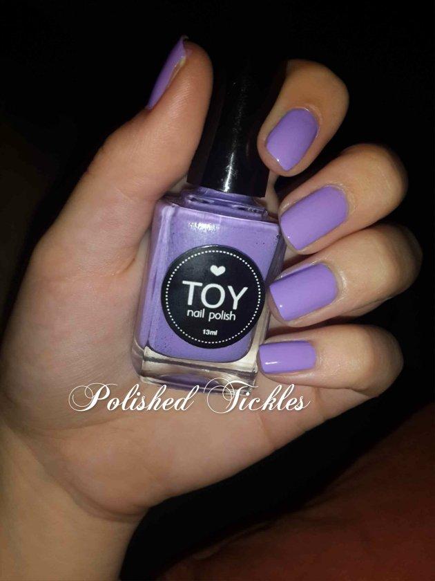 Lila by TOY Nail Polish