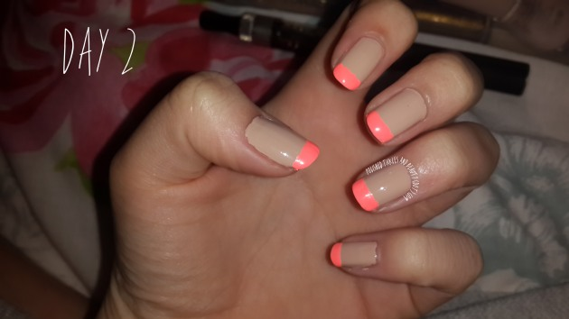 Neon-French-Nude-Nails