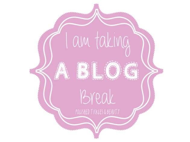 Blog Break
